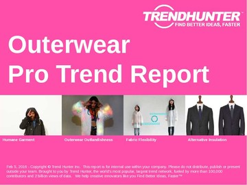 Outerwear Trend Report and Outerwear Market Research