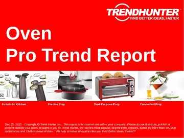 Oven Trend Report and Oven Market Research
