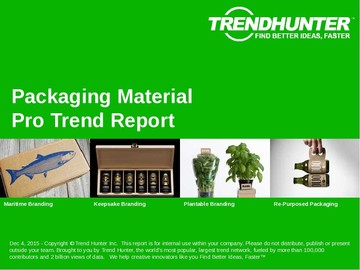 Packaging Material Trend Report and Packaging Material Market Research