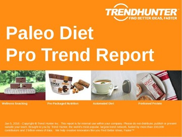 Paleo Diet Trend Report and Paleo Diet Market Research
