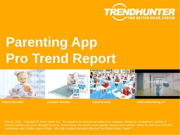 Parenting App Trend Report and Parenting App Market Research