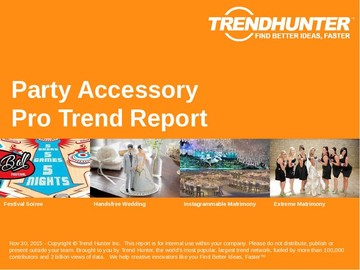 Party Accessory Trend Report and Party Accessory Market Research