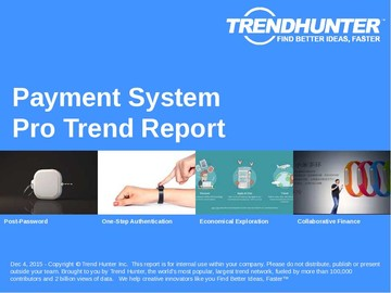 Payment System Trend Report and Payment System Market Research