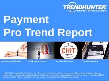 Payment Trend Report and Payment Market Research