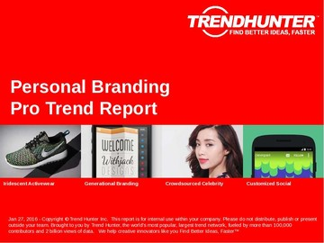 Personal Branding Trend Report and Personal Branding Market Research