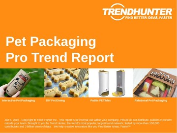 Pet Packaging Trend Report and Pet Packaging Market Research