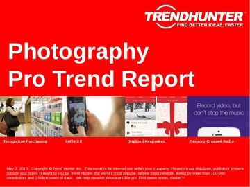 Photography Trend Report and Photography Market Research