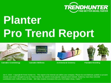 Planter Trend Report and Planter Market Research