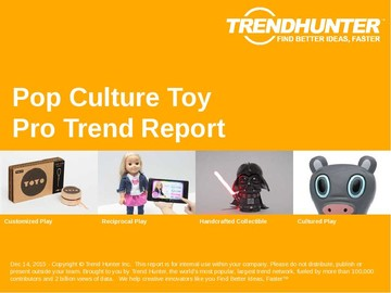 Pop Culture Toy Trend Report and Pop Culture Toy Market Research