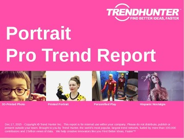 Portrait Trend Report and Portrait Market Research