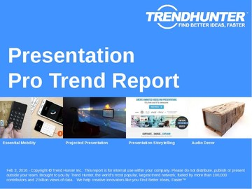 Presentation Trend Report and Presentation Market Research