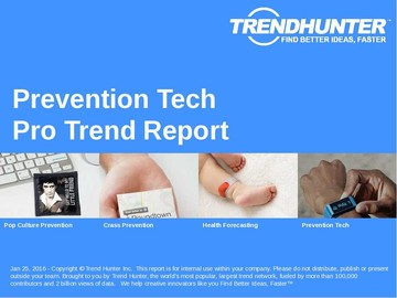 Prevention Tech Trend Report and Prevention Tech Market Research