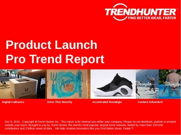 Product Launch Trend Report and Product Launch Market Research