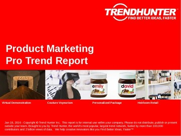 Product Marketing Trend Report and Product Marketing Market Research