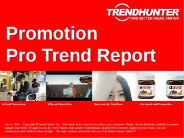 Promotion Trend Report and Promotion Market Research
