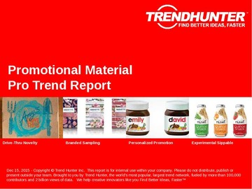 Promotional Material Trend Report and Promotional Material Market Research