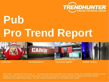 Pub Trend Report and Pub Market Research