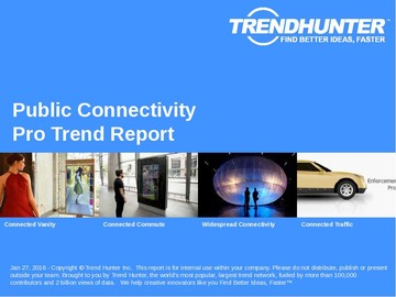 Public Connectivity Trend Report and Public Connectivity Market Research