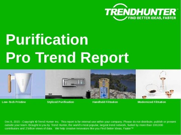 Purification Trend Report and Purification Market Research