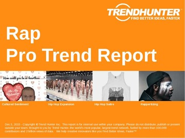 Rap Trend Report and Rap Market Research