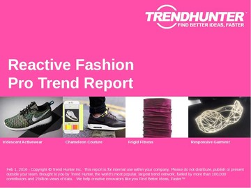 Reactive Fashion Trend Report and Reactive Fashion Market Research
