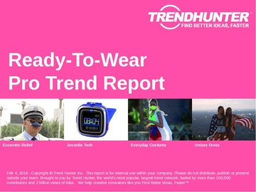 Ready-To-Wear Trend Report and Ready-To-Wear Market Research