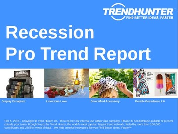Recession Trend Report and Recession Market Research