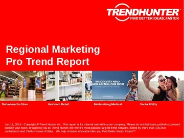 Regional Marketing Trend Report and Regional Marketing Market Research