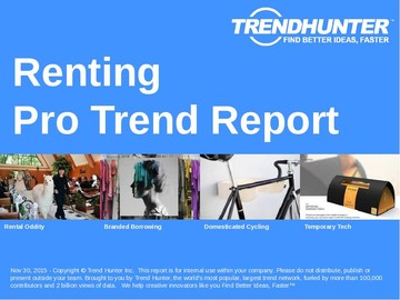 Renting Trend Report and Renting Market Research