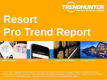 Resort Trend Report and Resort Market Research