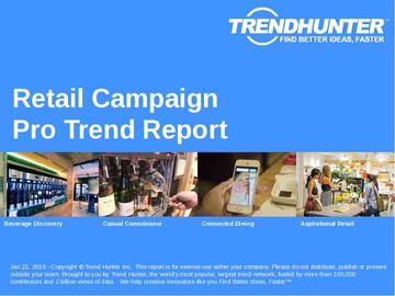 Retail Campaign Trend Report and Retail Campaign Market Research