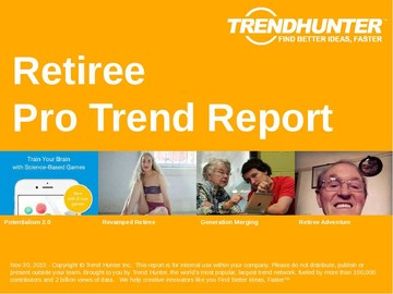 Retiree Trend Report and Retiree Market Research