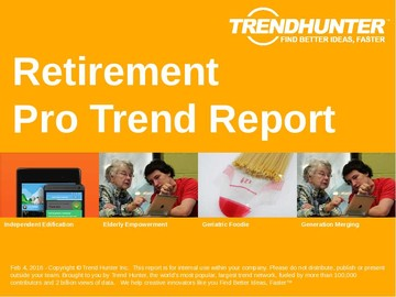 Retirement Trend Report and Retirement Market Research