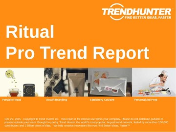 Ritual Trend Report and Ritual Market Research