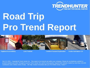 Road Trip Trend Report and Road Trip Market Research