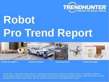 Robot Trend Report and Robot Market Research