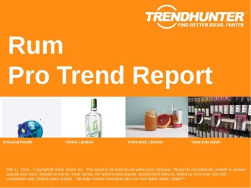 Rum Trend Report and Rum Market Research