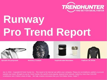 Runway Trend Report and Runway Market Research
