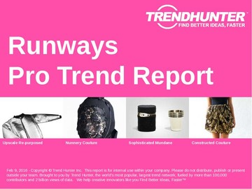Runways Trend Report and Runways Market Research