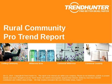 Rural Community Trend Report and Rural Community Market Research