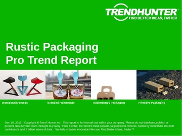 Rustic Packaging Trend Report and Rustic Packaging Market Research