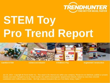 STEM Toy Trend Report and STEM Toy Market Research