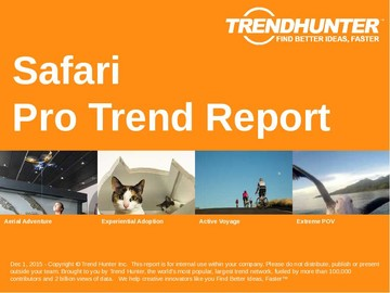 Safari Trend Report and Safari Market Research
