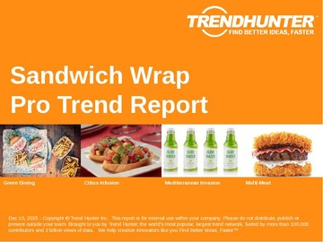 Sandwich Wrap Trend Report and Sandwich Wrap Market Research