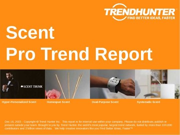 Scent Trend Report and Scent Market Research