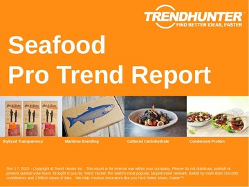 Seafood Trend Report and Seafood Market Research