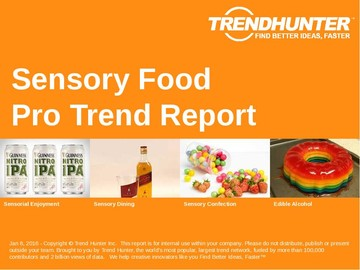 Sensory Food Trend Report and Sensory Food Market Research