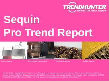 Sequin Trend Report and Sequin Market Research