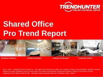 Shared Office Trend Report and Shared Office Market Research