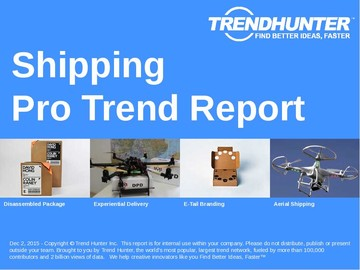 Shipping Trend Report and Shipping Market Research